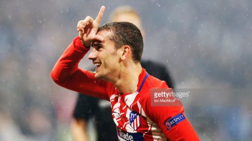 Antoine Griezmann is staying with Atletico Madrid