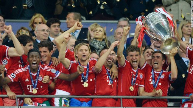 Bayern Munich vs Borussia Dortmund – 2013 Champions League Final