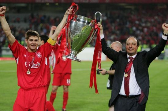 Steven-Gerrard-and-Rafa-Benitez-Champions-League-Final-2005