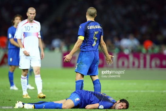 Zinedine Zidane (France) during the final of the 2006 FIFA World Cup between Italy and France