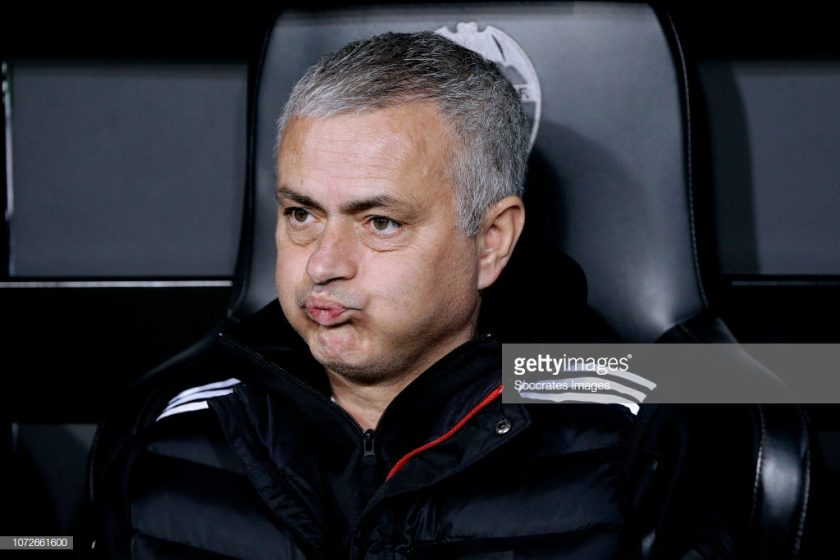 Jose Mourinho sacked from Manchester United