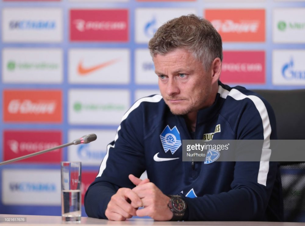 Ole Gunnar Solskjor, new manager of Manchester United