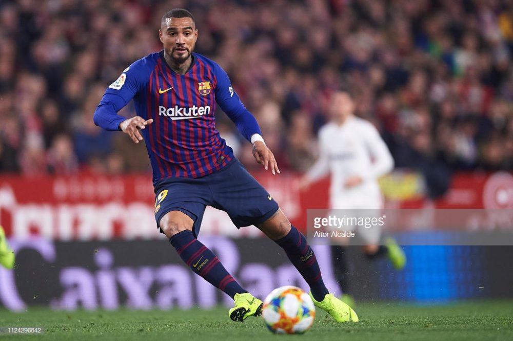 Kevin Prince Boateng of FC Barcelona