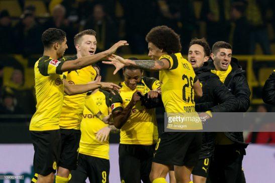 Players of Borussia Dortmund