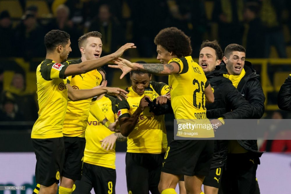 Players of Borussia Dortmund