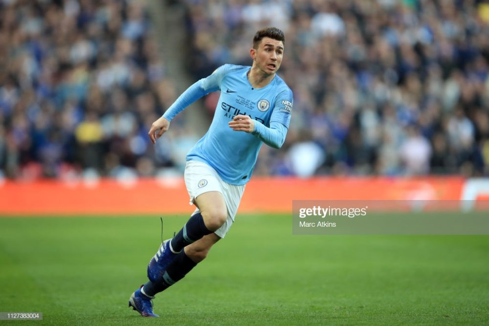 Aymeric Laporte of Manchester City