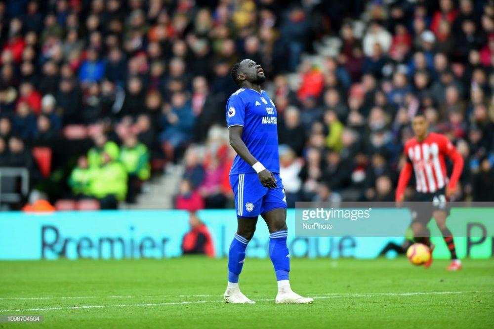 Cardiff forward Oumar Niasse
