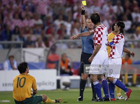 Josip Simunic of Croatia, world cup 2016