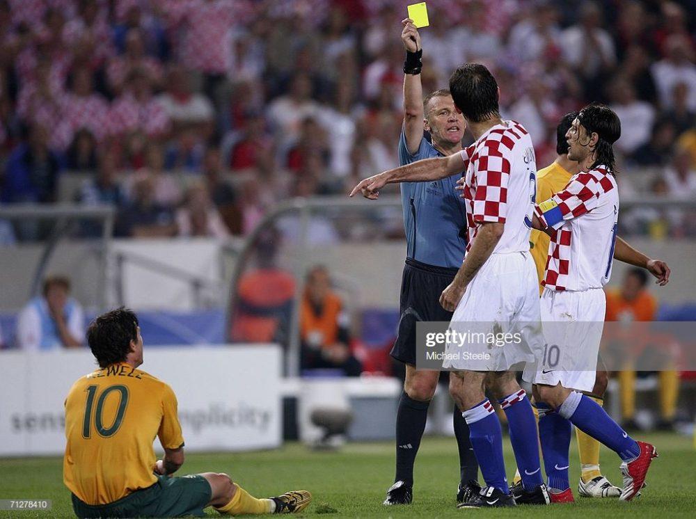 Josip Simunic of Croatia, world cup 2016