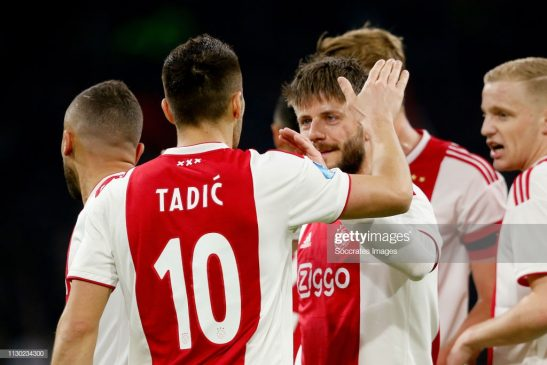 Dusan Tadic of Ajax