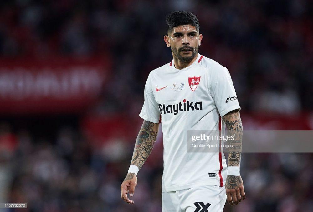 Ever Banega of Sevilla FC