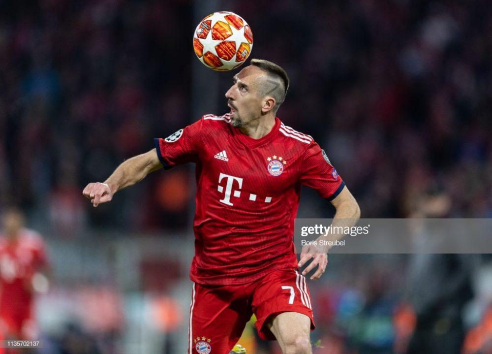 Franck Ribery of FC Bayern Muenchen