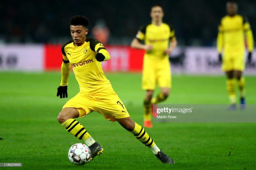 Jadon Malik Sancho of Dortmund