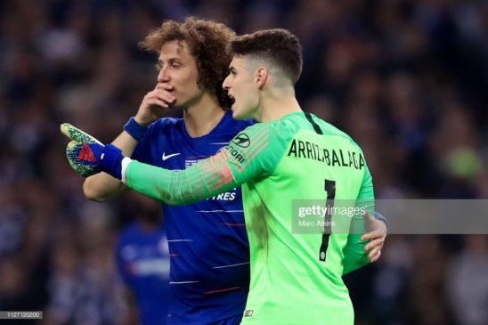 Kepa Arrizabalaga of Chelsea