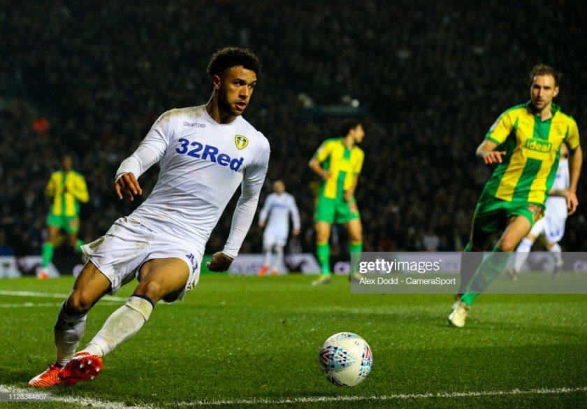 Leeds United's Tyler Roberts