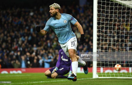 Manchester City player Sergio Aguero