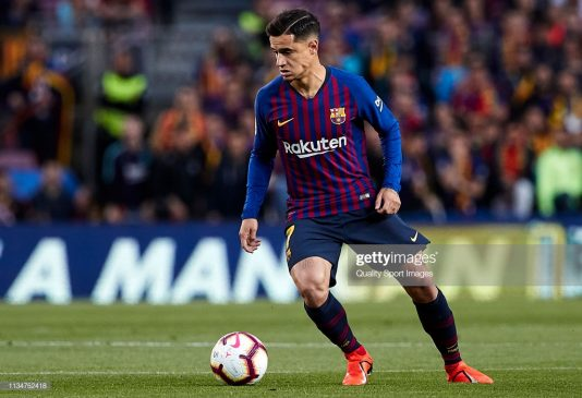 Philippe Coutinho of FC Barcelona