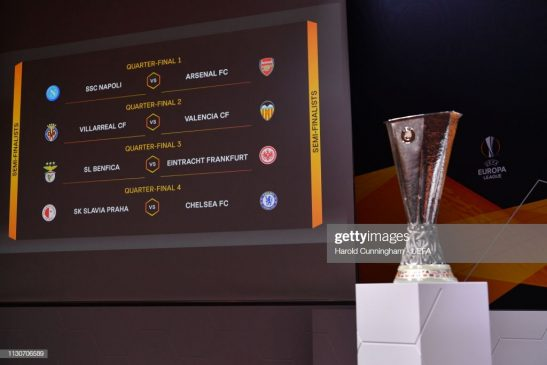 UEFA Europa League 2018 - 2019 Draws