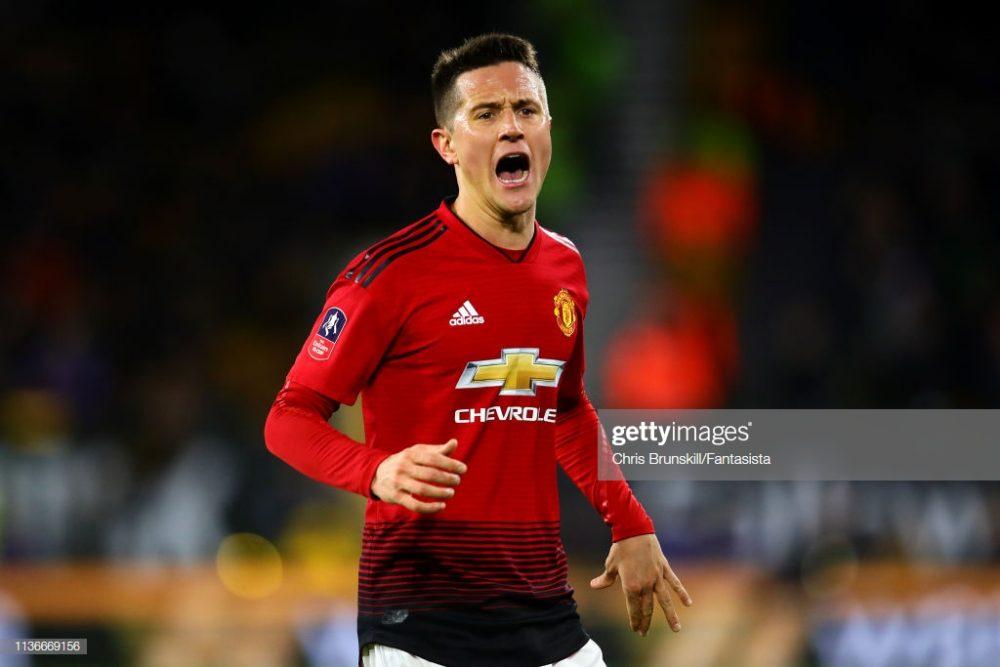 Ander Herrera of Manchester United