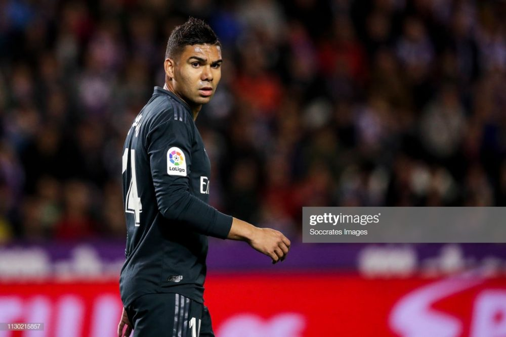 Casemiro of Real Madrid