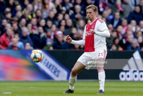 Frenkie de Jong of Ajax
