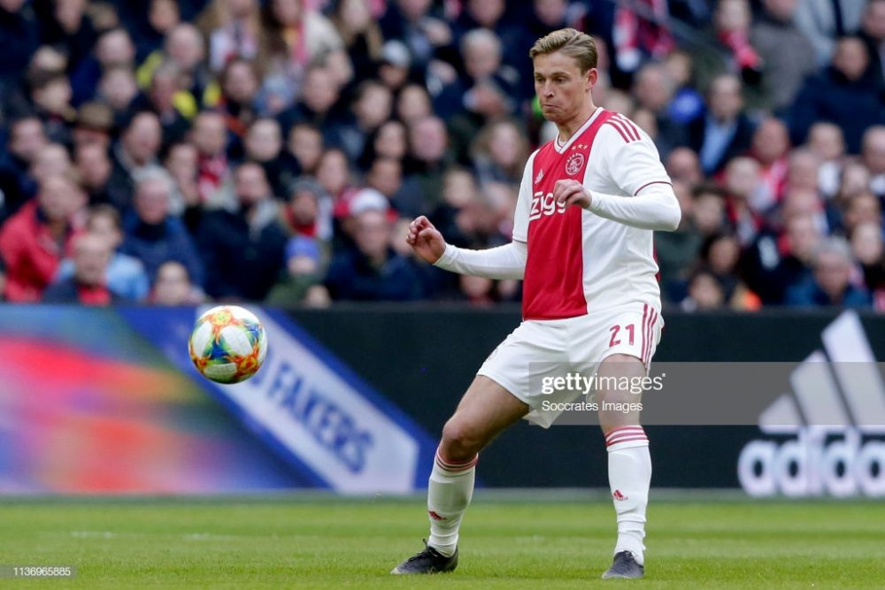 Frenkie de Jong of Ajax
