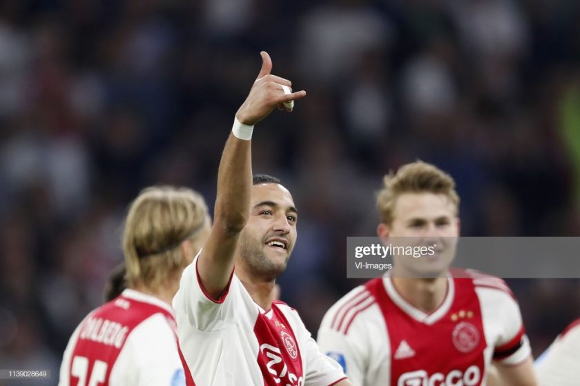 Hakim Ziyech of Ajax