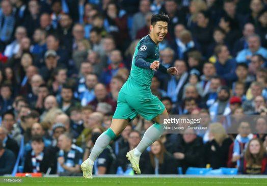 Heung-Min Son of Tottenham Hotspur