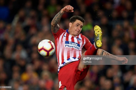 Jose Maria Gimenez of Atletico Madrid