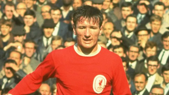 Liverpool FC player and captain Tommy Smith