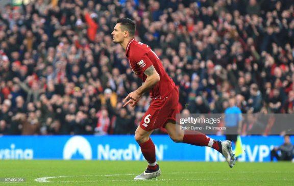 Liverpool's Dejan Lovren