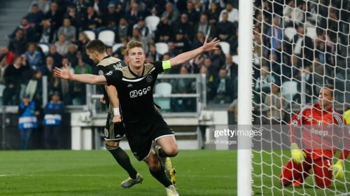 Juventus Sign Matthijs de Ligt For €82 million