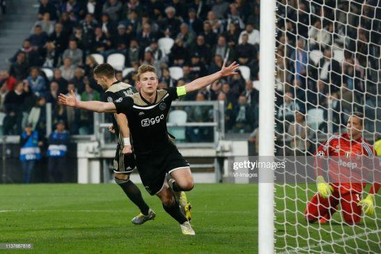 Matthijs de Ligt of Ajax
