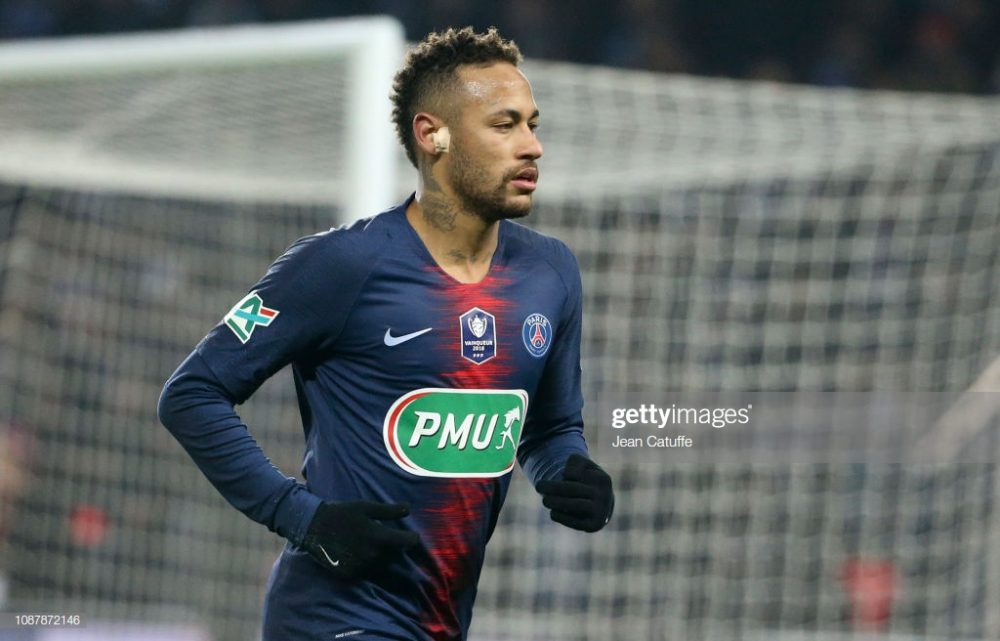 Neymar Jr of PSG