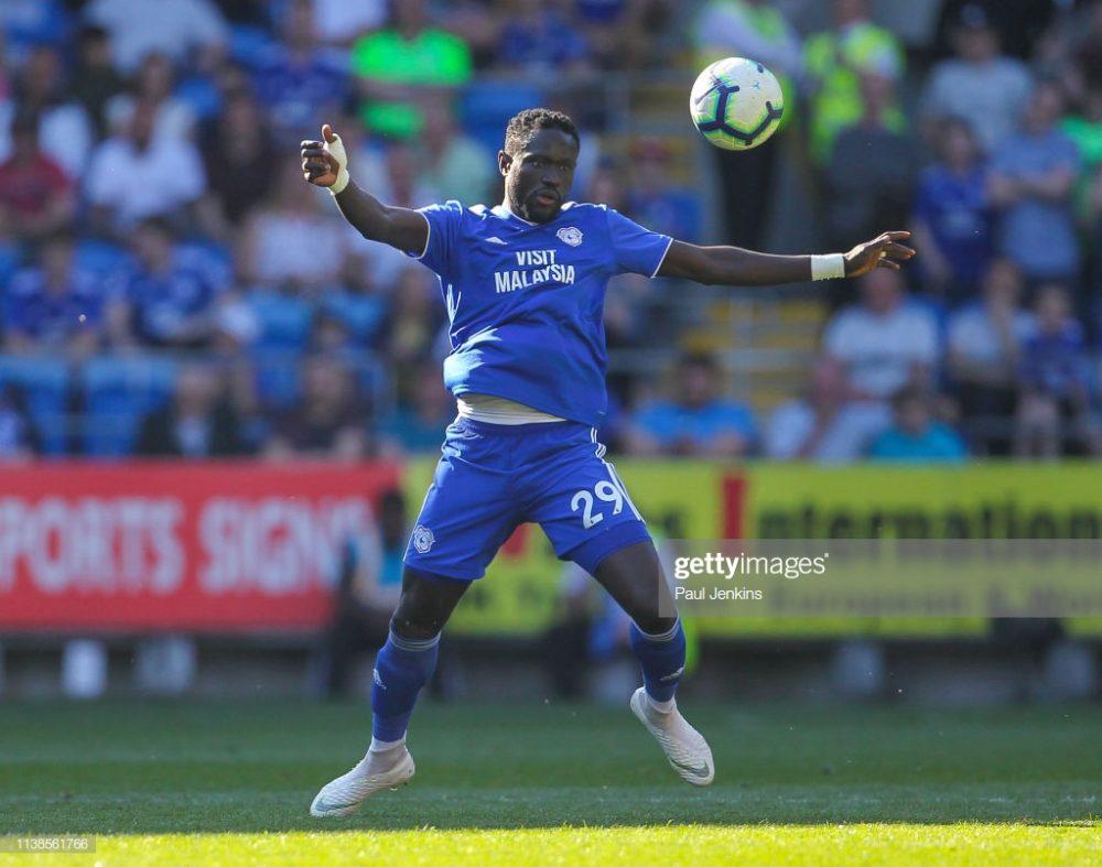 Oumar Niasse of Cardiff City