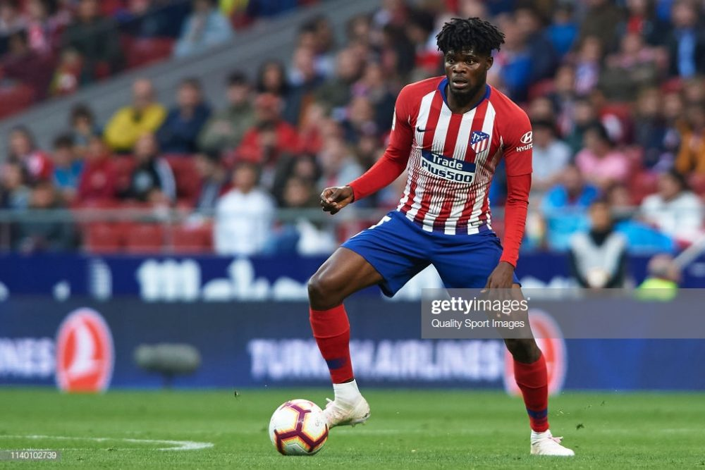 Thomas Partey of Atletico de Madrid