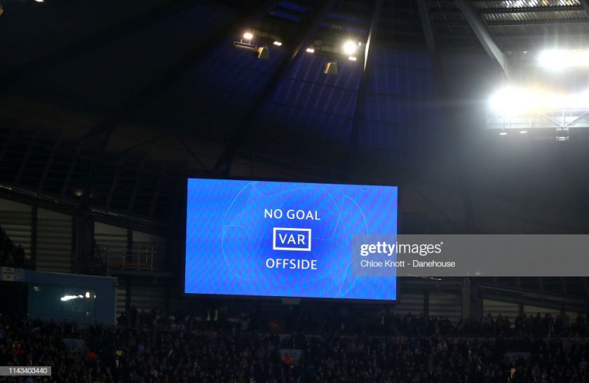 VAR manchester city vs tottenham