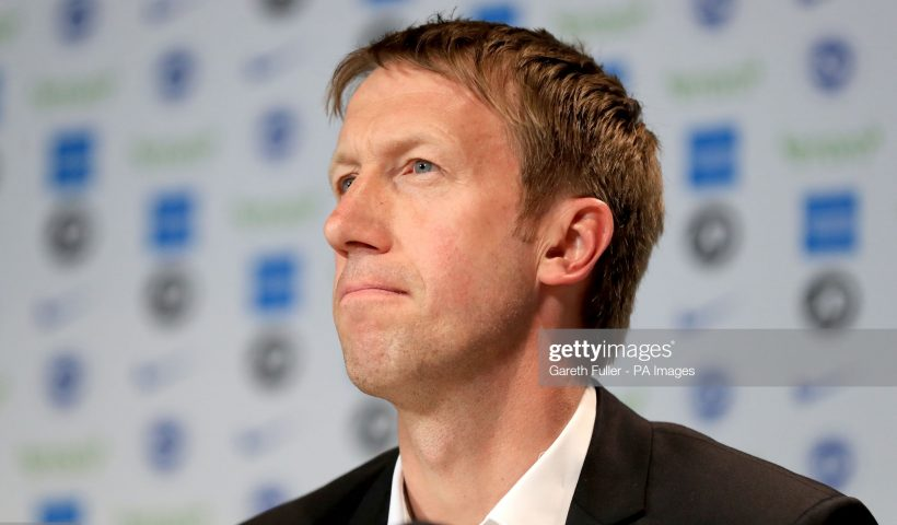 Brighton and Hove Albion's new manager Graham Potter