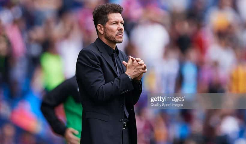 Diego Simeone, Manager of Club Atletico de Madrid