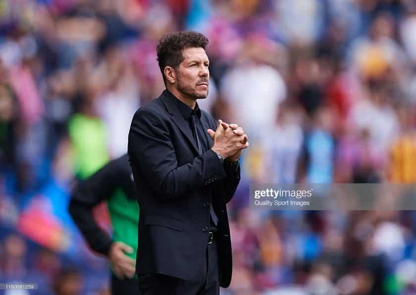 Diego Simeone, Manager of Club Atletico de Madrid