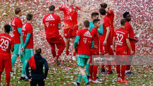 Bayern Munich Win Bundesliga With the Help of Robben and Ribery