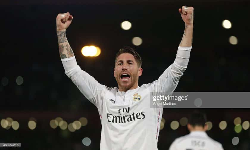 Sergio Ramos of Real Madrid