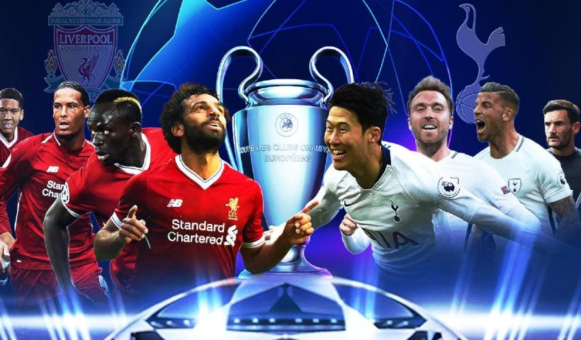 Tottenham vs Liverpool champions league final logo