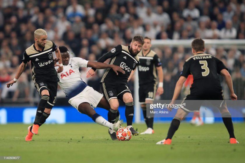 Victor Wanyama of Tottenham Hotspu