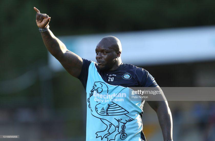 Adebayo Akinfenwa of Wycombe Wanderers