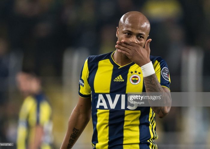 Andre Ayew of Fenerbahce SK