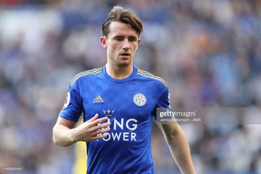 Ben Chilwell of Leicester City