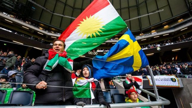 Dalkurd FF supporters