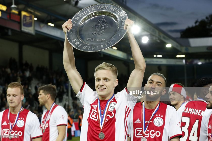 Donny van de Beek of Ajax