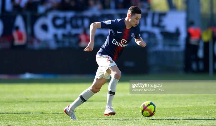 Julian Draxler of Paris Saint-Germain